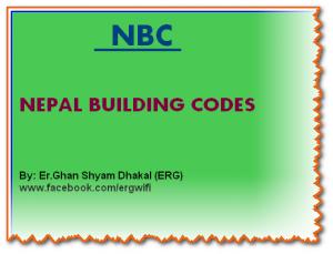 Nepal Building Code -NBC latest